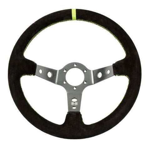 Dished Steering Wheel - 6 Bolt - Hess Motorsports