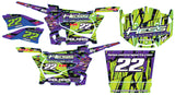 Polaris RZR 900 Graphic Kit - Hess Motorsports Custom Kit