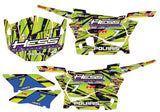 Polaris RZR S 900 Graphic Kit - Hess Motorsports Custom Kit