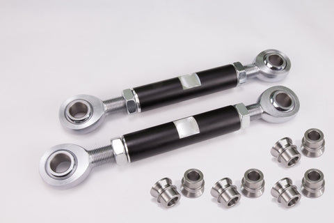 7075 Billet Swaybar Links with 5/8 Chromoly Heims - Polaris RZR XP 1000 / Turbo