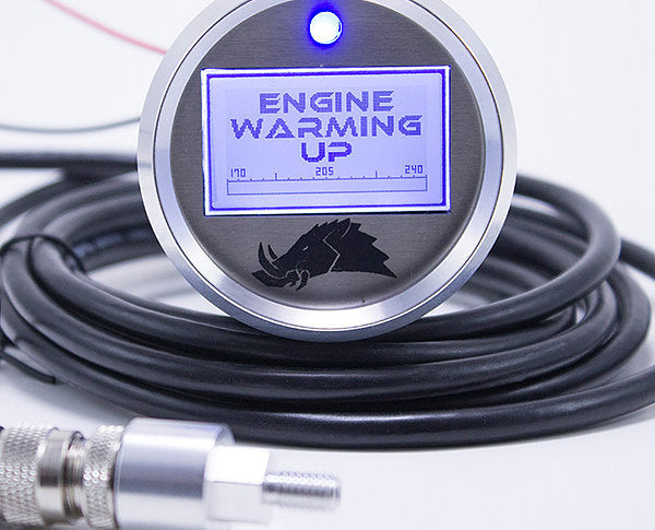 Razorback Engine Temperature Gauge