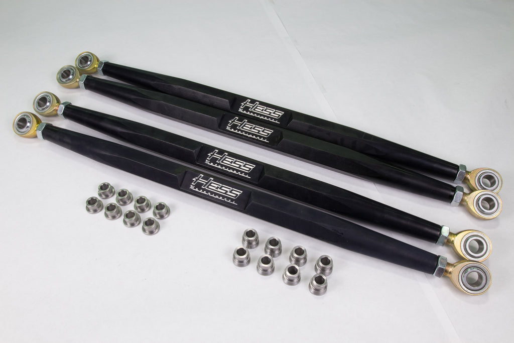 Pro Radius Rods 6061 Aluminum with 5/8 Chromoly Heim Joints (Polaris RZR XP 1000/ Turbo / SKU  703011)