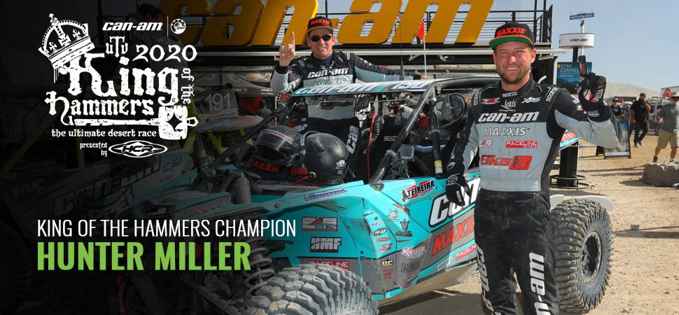 Hunter Miller - King of the Hammers Champion