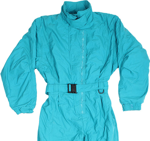 EDDIE BAUER - SKI SUIT - GREEN - L/XL - Ski Suit