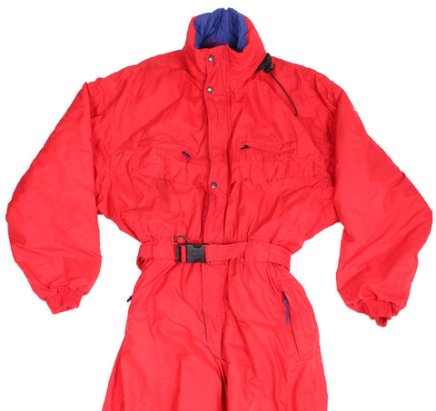 DECATHLON - SKI SUIT - RED - XXL - Ski Suit