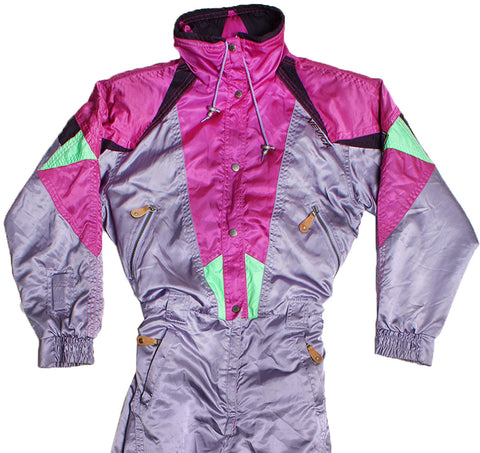 NEVICA - PURPLE - SKI SUIT - S - Ski Suit