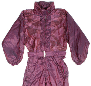 BELFE & BELFE - SKI SUIT - METALLIC PURPLE - M - Ski Suit