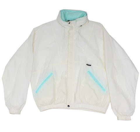 KWAY - LIGHTWEIGHT SPORTS JACKET - WHITE - L - Ski Jacket