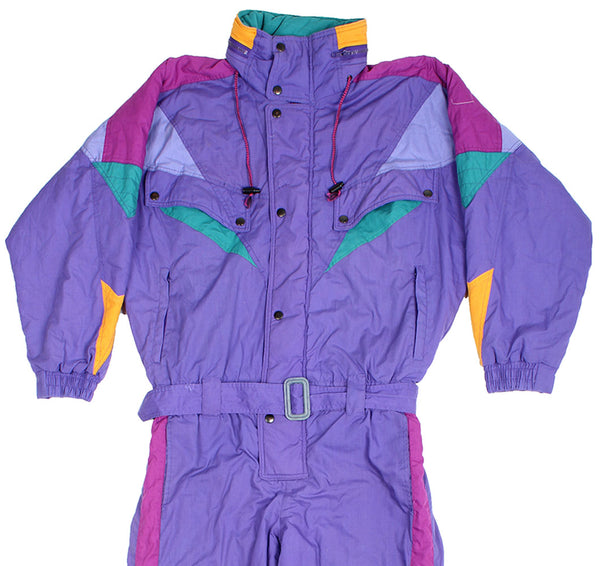 SKI SUIT - PURPLE - M - Ski Suit