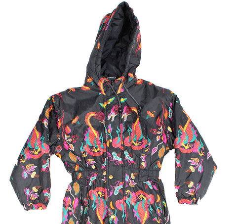 SKI SUIT - DRAGON PRINT - KIDS - Ski Suit