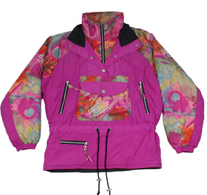 MAGIC VENTURE - SKI PULLOVER JACKET - PINK - S/M - Ski Jacket