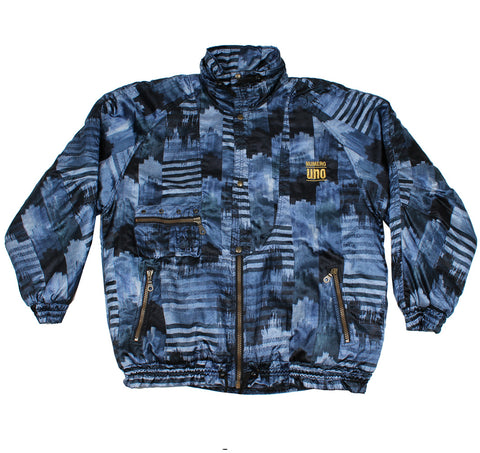 NUMERO UNO - SKI JACKET - BLUE/MULTI - X/L - Ski Jacket
