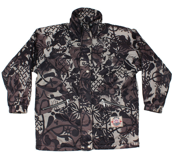 ETIREL - ABSTRACT PRINT - SKI JACKET - S/M - Ski Jacket