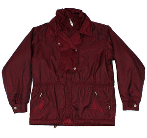 K2 APPAREL - SKI JACKET - BURGANDY - S/M - Ski Jacket