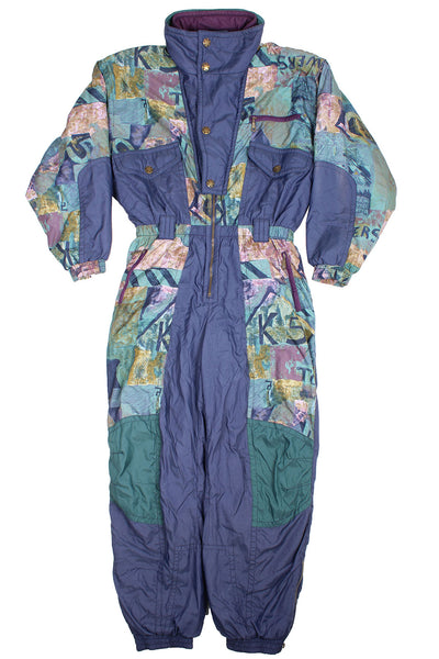 RODEO - SKI SUIT - ABSTRACT PRINT - XL - Ski Suit