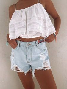 Patch Shorts (M) - ErinMade