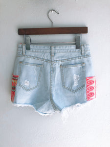 Patch Shorts (XS/S) - ErinMade