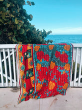 Load image into Gallery viewer, Kantha Quilt