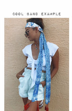 Load image into Gallery viewer, Scarf in Coastal Print - ErinMade
