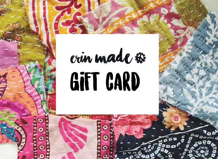 Virtual Gift Card - ErinMade