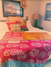 Load image into Gallery viewer, Kantha Quilt - ErinMade