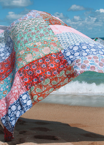 MultiColored Patchwork Quilt - ErinMade