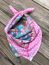 Load image into Gallery viewer, Block Print Bandana - ErinMade