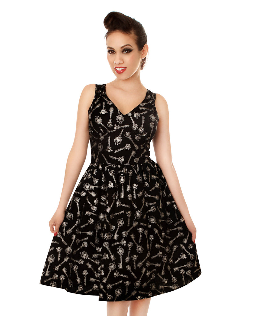 FOLTER - KEYS TO THE KINGDOM - Rockabilly Retro Dress
