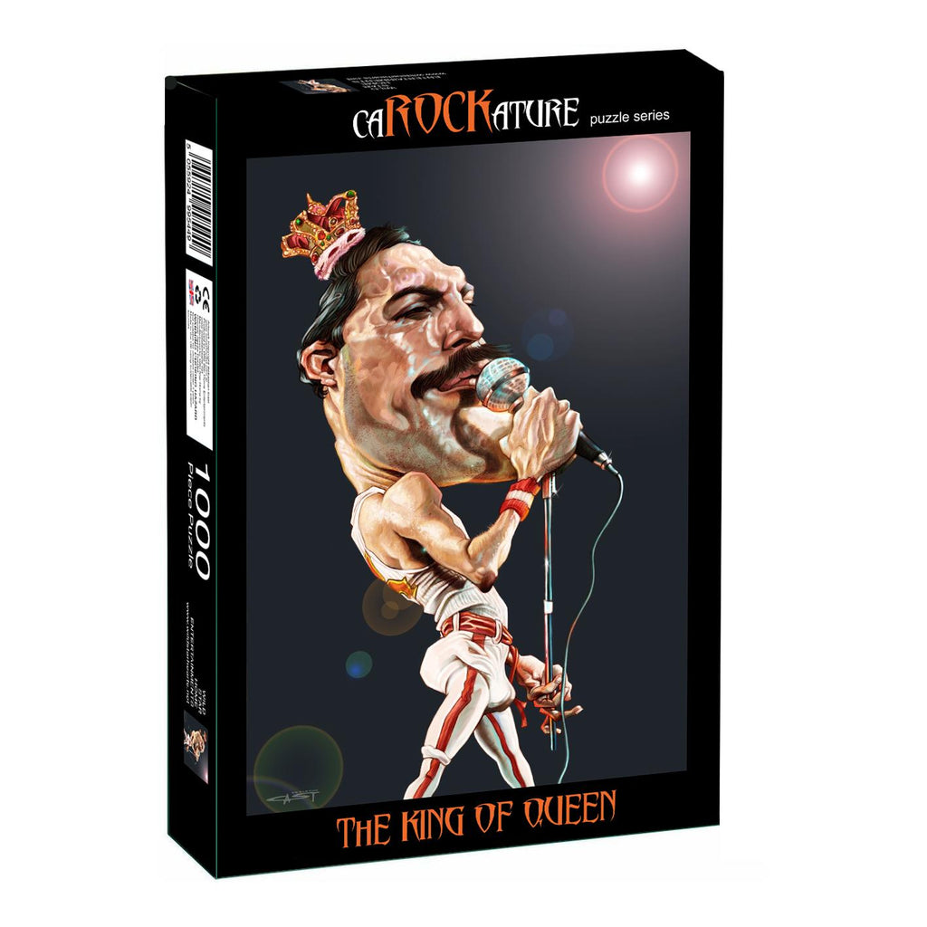 Freddie Mercury Puzzle front of box