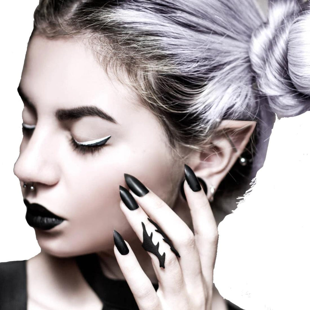 Rogue Wolf - Betray - Midi Ring in Black
