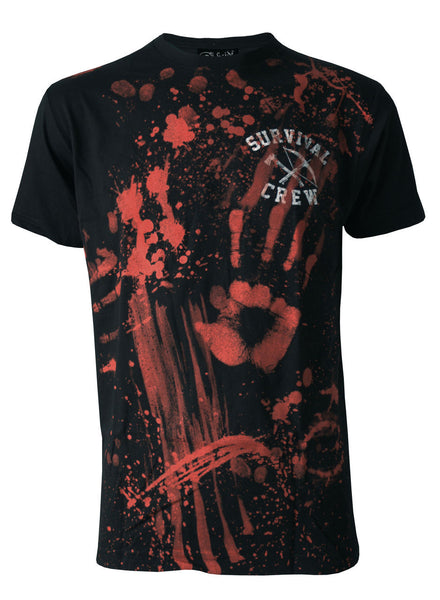 Darkside - ZOMBIE KILLER 13 - Mens T-Shirt - Black