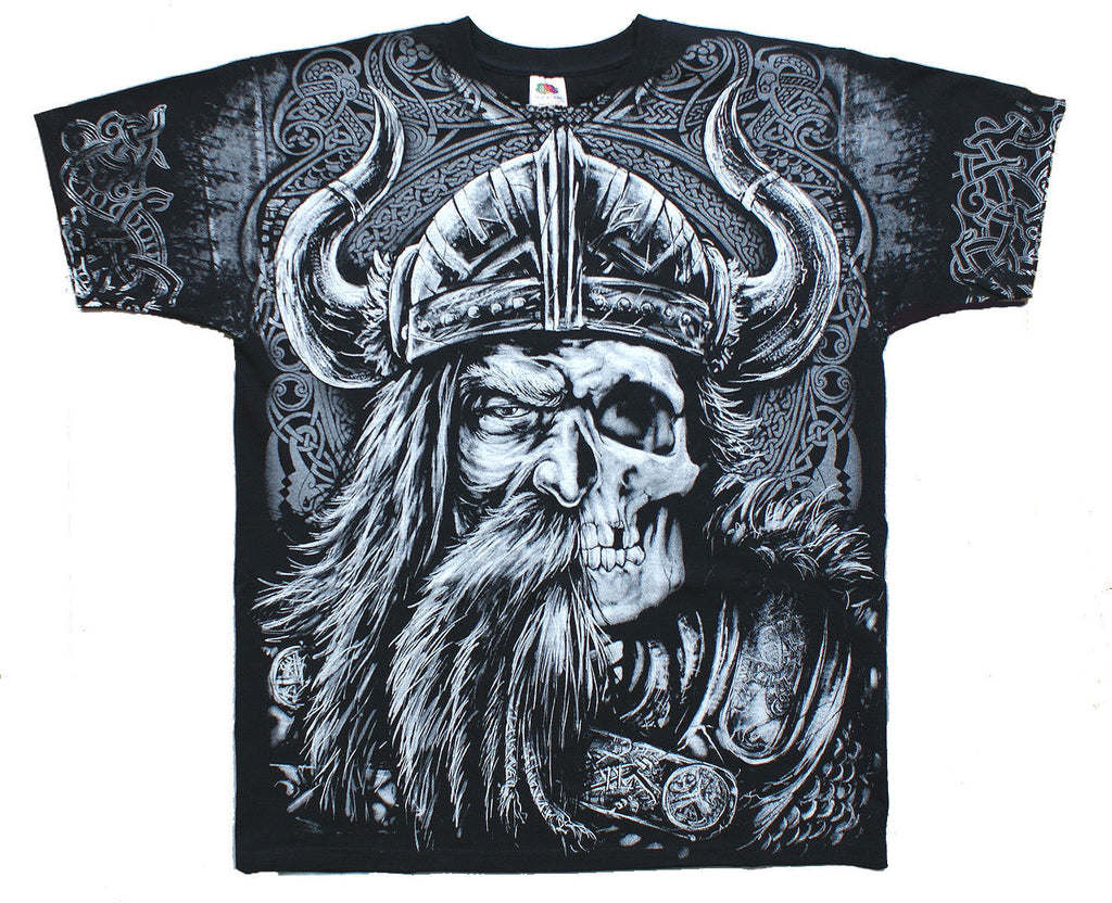 VIKING AGES T-Shirt Wrap - Black