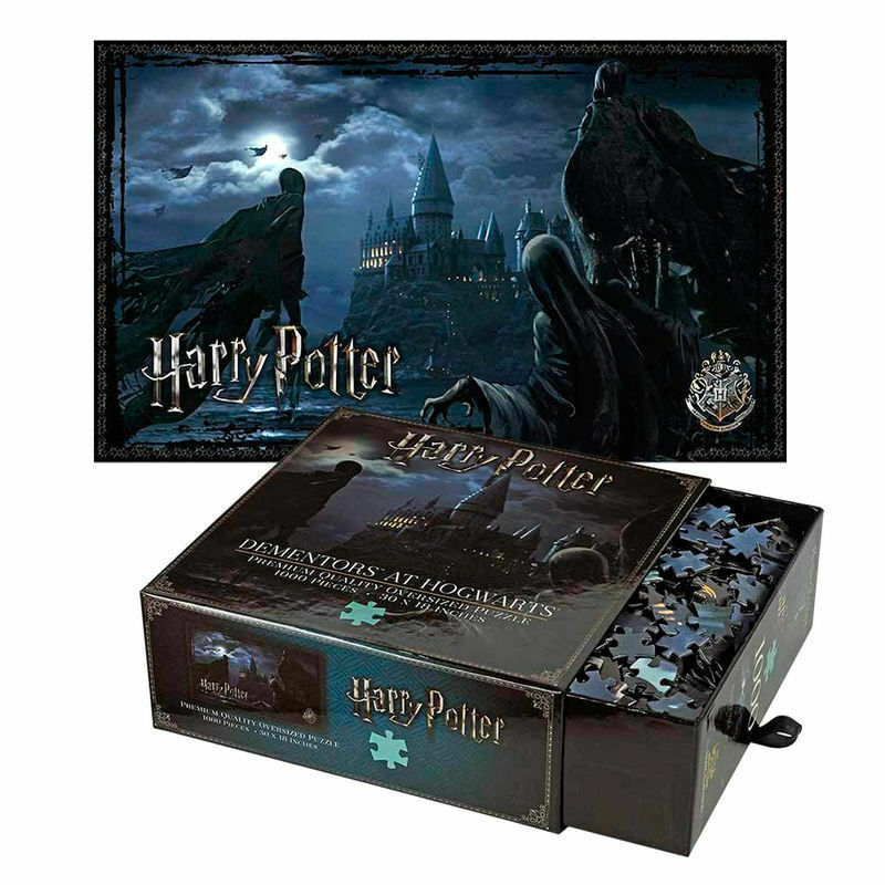 Harry Potter - DEMENTORS AT HOGWARTS -1000 piece puzzle