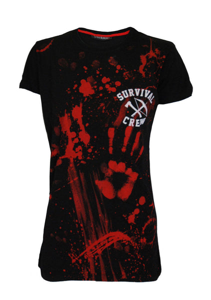 Darkside - ZOMBIE KILLER 13 - Womens Capsleeve T-Shirt