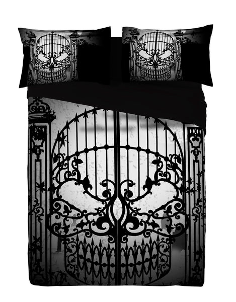 Alchemy Gothic - ABANDON ALL HOPE - Super King Duvet Cover Set (King USA)