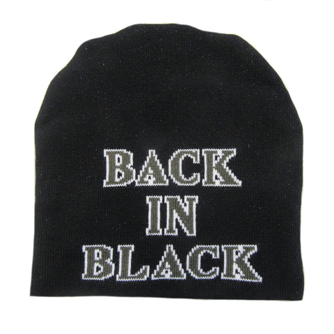 Plastic Head - AC/DC BACK IN BLACK - Beanie