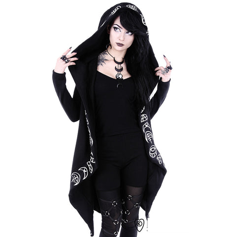 Restyle - ALL SEEING EYE MOON ROBE HOODIE
