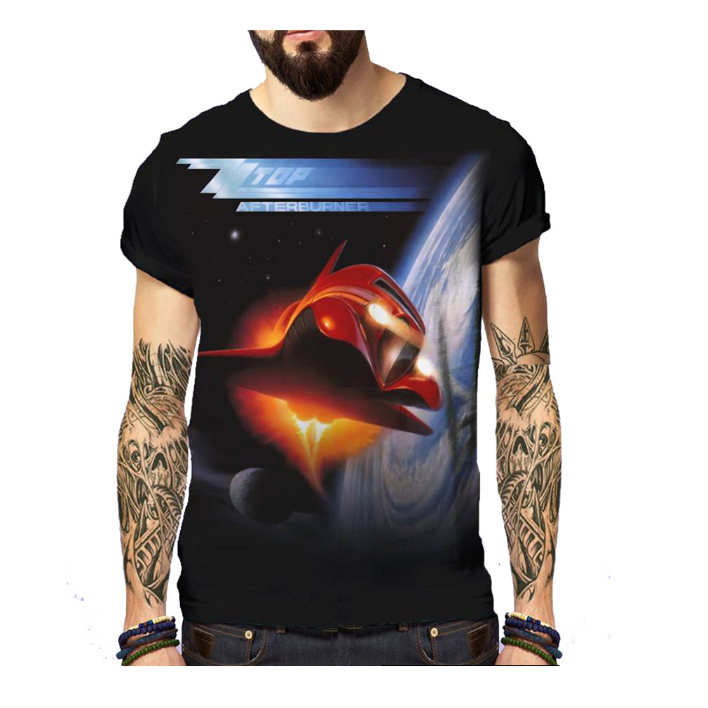 Born2Rock - AFTERBURNER ZZ Top - Mens T-Shirt