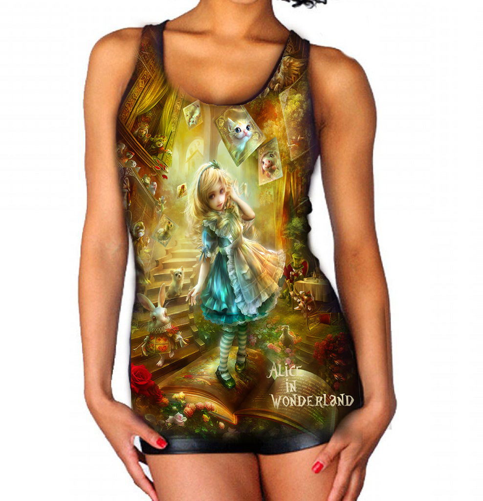 WILD STAR - ALICE IN WONDERLAND - Women's Vest top