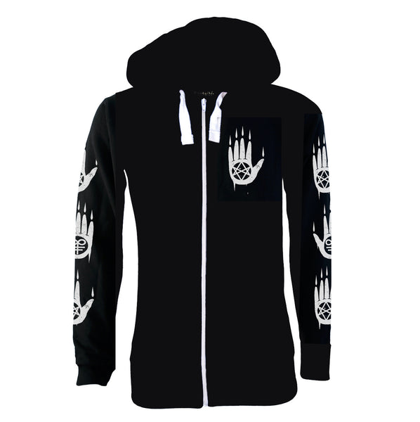 Darkside - PENTAGRAM BAPHOMET - Mens Lightweight Hoodie - Black
