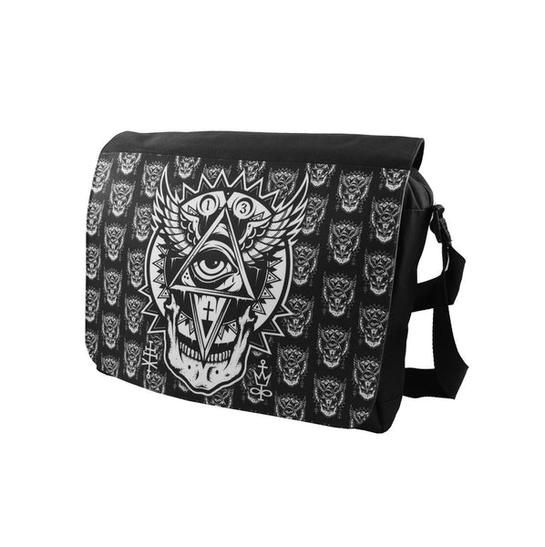 Darkside - ALL SEEING EYE - Messenger Bag - Black