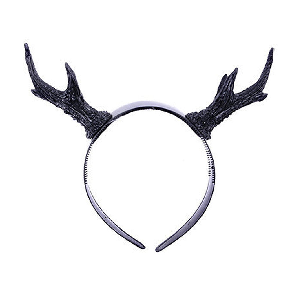 Image of Antler Horns Headband.
