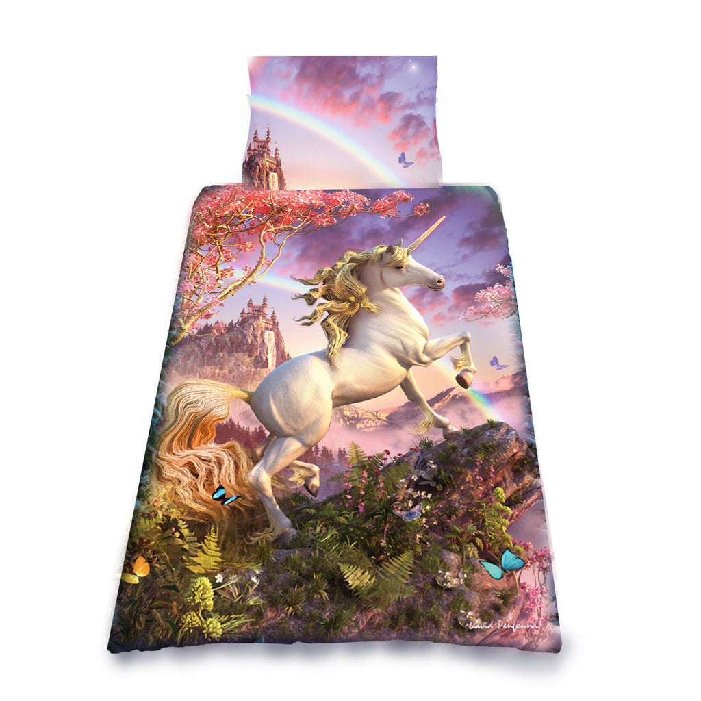 Image of Awesome Unicorn Print Detail