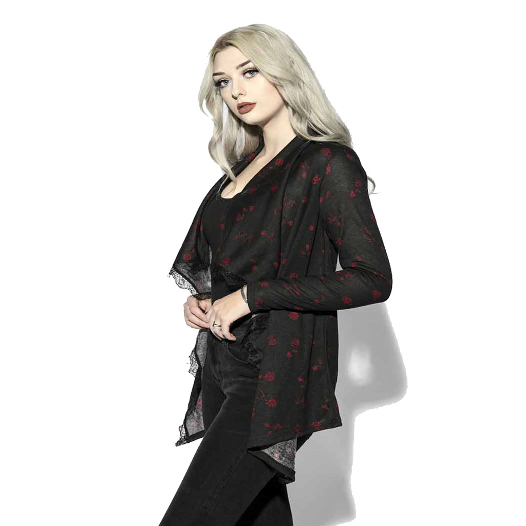 Blackcraft Cult - PENTAGRAM ROSE -  Cardigan