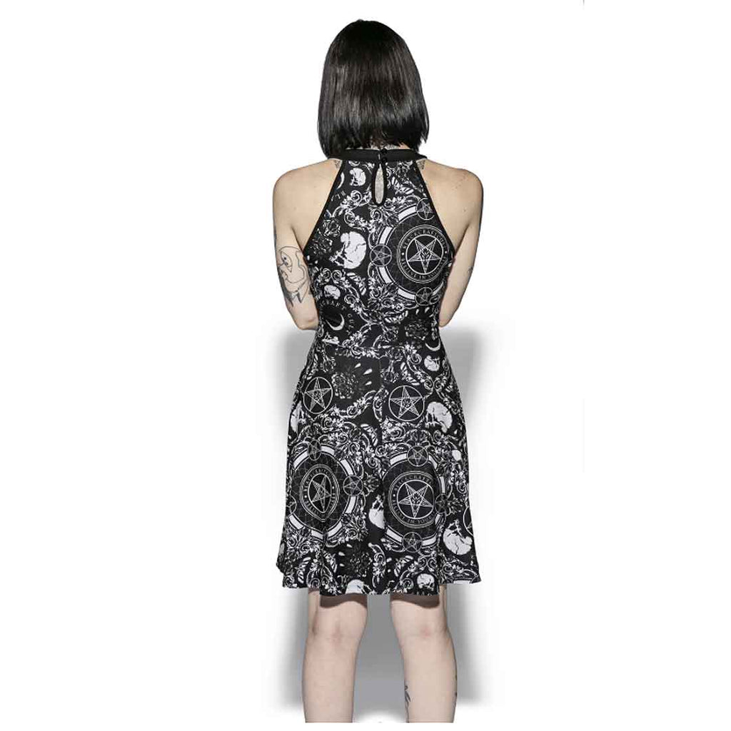 Blackcraft Cult - BRUSHED BAROQUE - Skater Dress