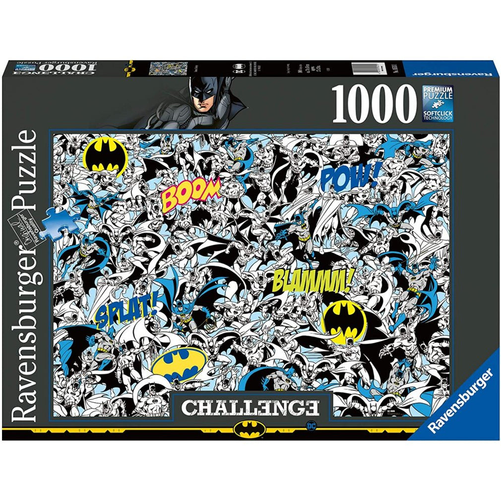 DC Comics - Batman Challenge - 1000pc Puzzle
