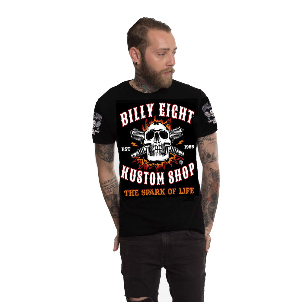 Billy Eight - Spark Of Life - T-Shirt