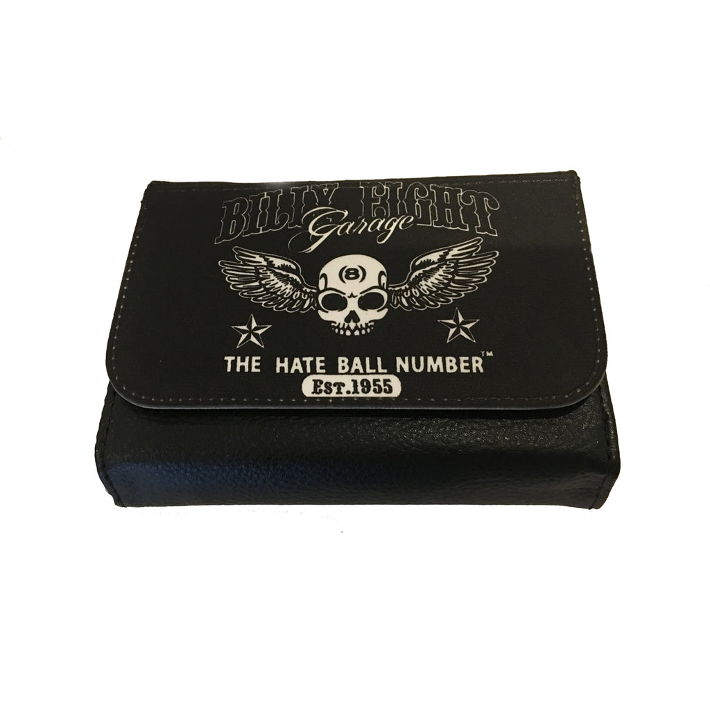 Billy Eight - BILLY EIGHT GARAGE - Bi-Fold Simulated Leather Wallet