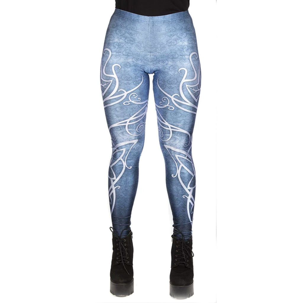 WB Lord Of The Rings - BLUE ELVEN GALADRIEL - Leggings