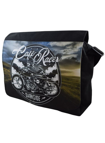 Darkside - CAFE RACER - Messenger Bag - Black